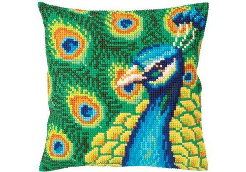 Collection d'Art Kussenpakket Proud Peacock - Collection d'Art