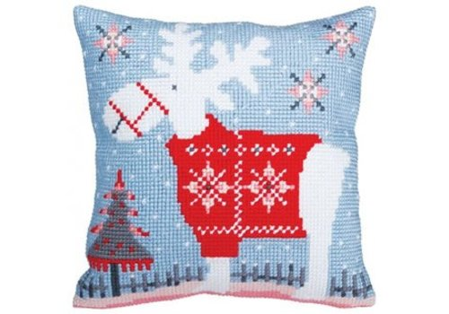 Collection d'Art Kussenpakket Christmas Deer - Collection d'Art