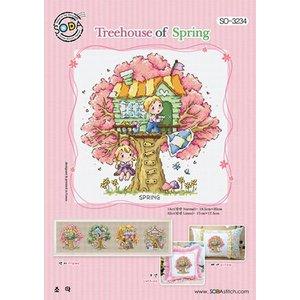 Soda Stitch Treehouse of Spring