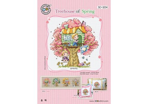 Soda Stitch Treehouse of Spring
