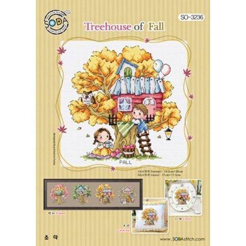 Soda Stitch Treehouse of Fall