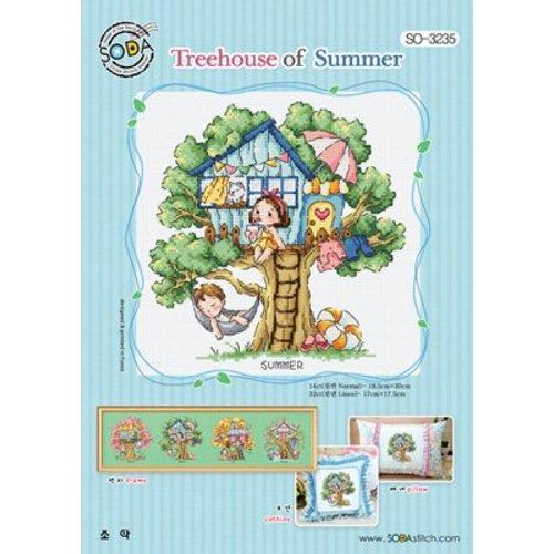 Soda Stitch Treehouse of Summer