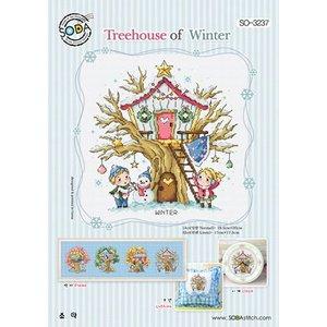 Soda Stitch Treehouse of Winter