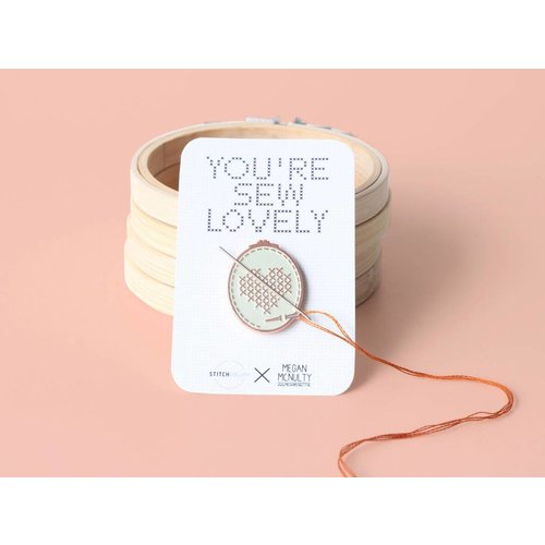 Stitchonomy  Needle Minder - Naaldenmagneet You're sew lovely