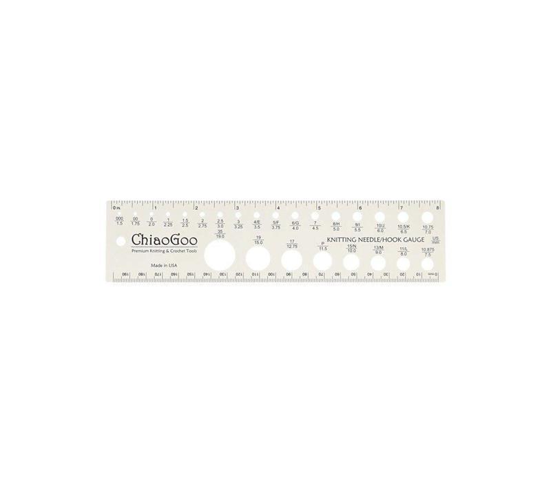 Chiaogoo - Breinaalden meter - 20 cm