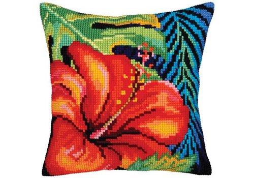 Collection d'Art Kussenpakket Hibiscus Flower - Collection d'Art