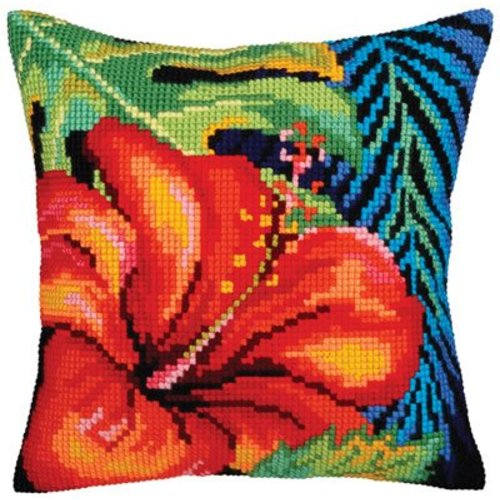 Collection d'Art Kussenpakket Hibiscus Flower - Collection d'Art