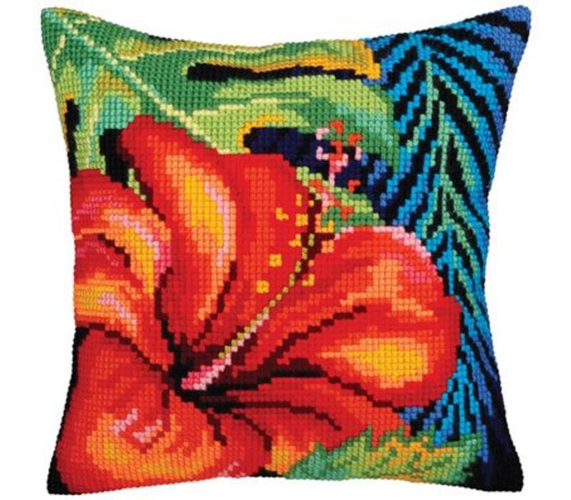 Kussenpakket Hibiscus Flower - Collection d'Art