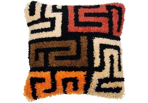 Vervaco Knoopkussen kit Kuba cloth patterns