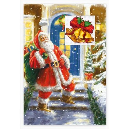 Luca-S Borduurpakket Postcard Christmas- Luca-S