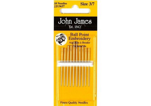 John james John James - Ballpoint Needle - Bolletjes Naalden