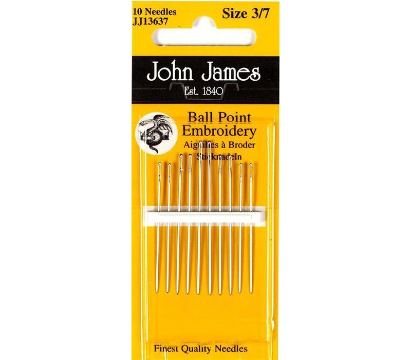 John James - Ballpoint Needle - Bolletjes Naalden