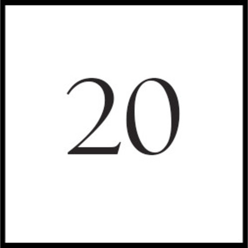 Borduurnaalden #20