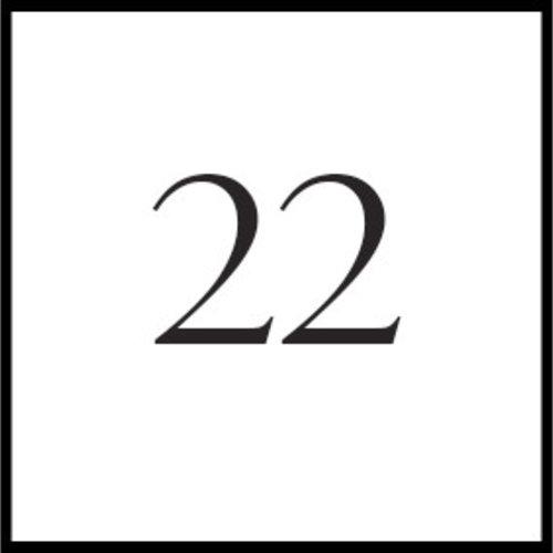 Borduurnaalden #22