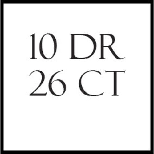 10-draads stoffen – 26 en 27 count