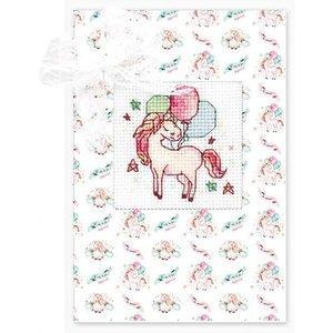 Luca-S Borduurpakket Postcard Paard