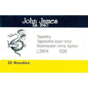 John james John James - Borduurnaald #28 zonder punt