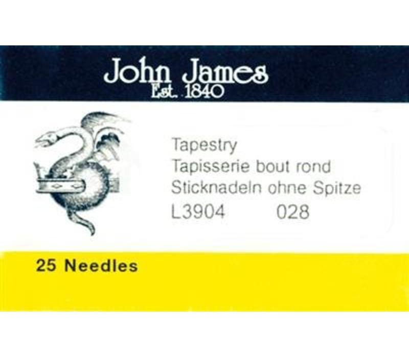 John James - Borduurnaald #28 zonder punt