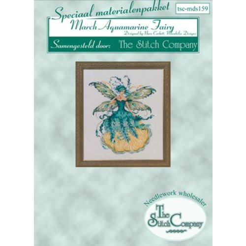 The Stitch Company Mirabilia 159 - March Aquamarine Fairy - spec. mat.