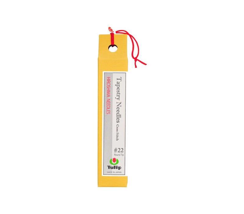Tulip - Hiroshima Needles - Borduurnaald #22 zonder punt