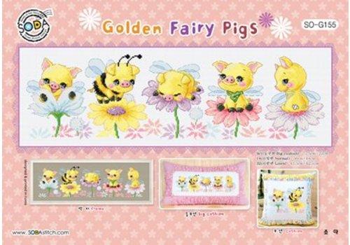 Soda Stitch Golden Fairly Pigs