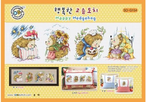 Soda Stitch Happy Hedgehog