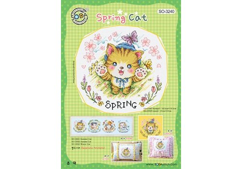 Soda Stitch Spring Cat