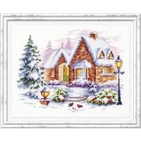 Borduurpakket Winterhouse - Chudo Igla