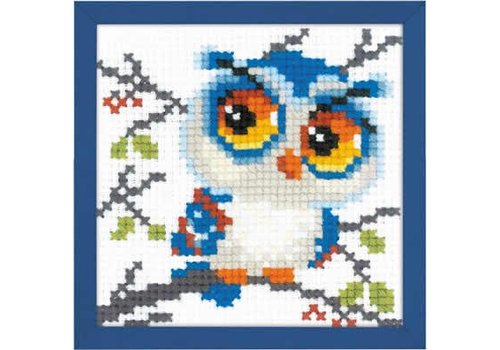 RIOLIS Borduurpakket Scops Owl - RIOLIS