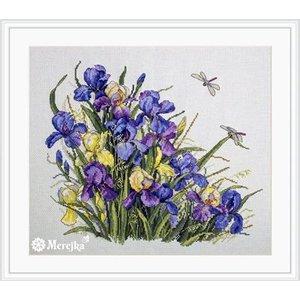 Merejka Borduurpakket Irises - MEREJKA