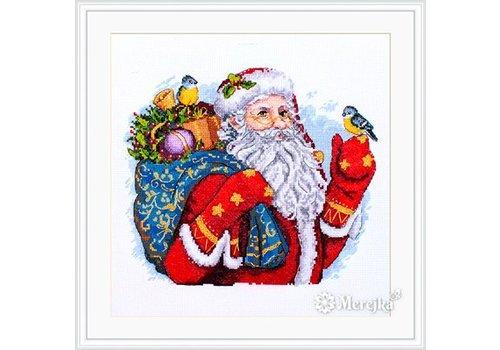 Merejka Borduurpakket Merry Christmas! - MEREJKA