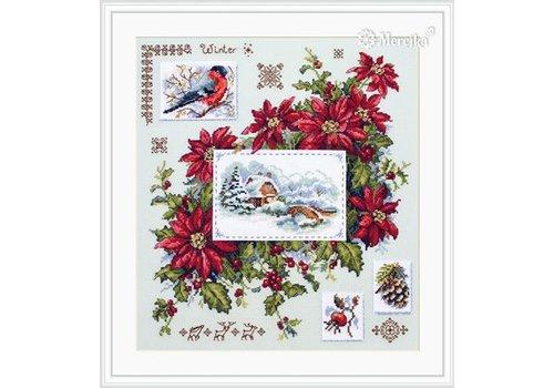 Merejka Borduurpakket Winter Sampler - MEREJKA