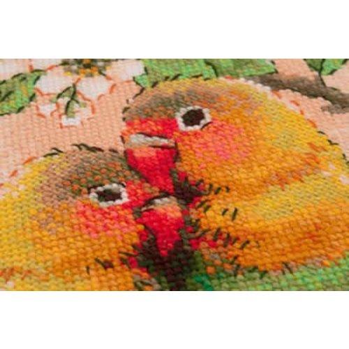 RIOLIS Borduurpakket Lovebirds - RIOLIS