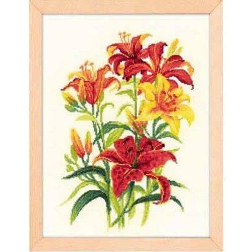 RIOLIS Borduurpakket Tiger Lilies - RIOLIS