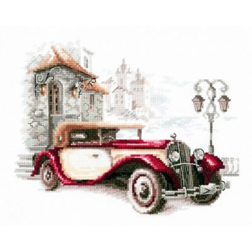 Chudo Igla Borduurpakket Retro Buick - Chudo Igla