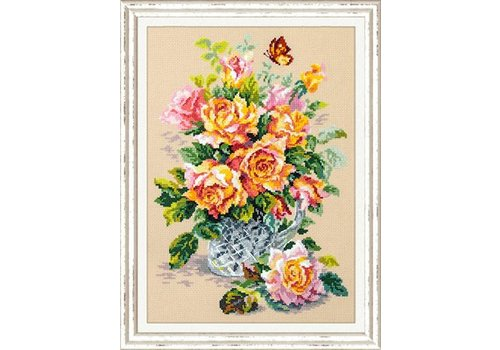 Chudo Igla Borduurpakket Tea Roses - Chudo Igla