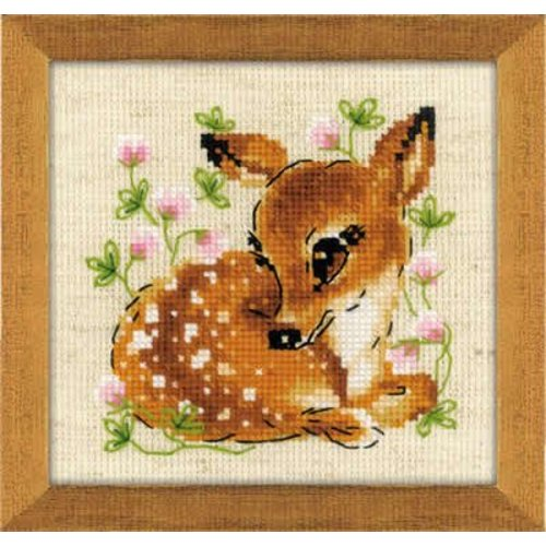 RIOLIS Borduurpakket Little Deer - RIOLIS