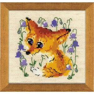 RIOLIS Borduurpakket Little Fox - RIOLIS