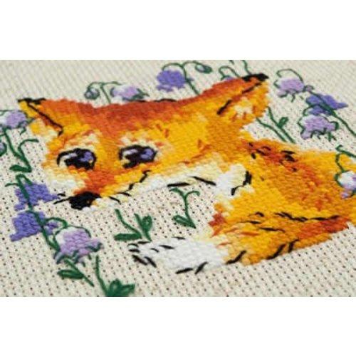 RIOLIS Borduurpakket Little Fox - RIOLIS