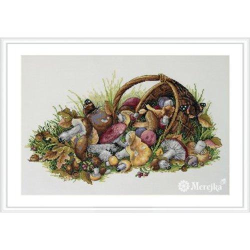 Merejka Borduurpakket Mushrooms - MEREJKA