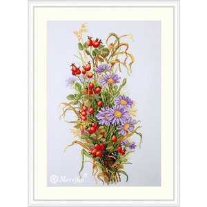 Merejka Borduurpakket Wildrose Berries - MEREJKA