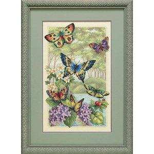 Dimensions Borduurpakket Butterfly Forest - DIMENSIONS