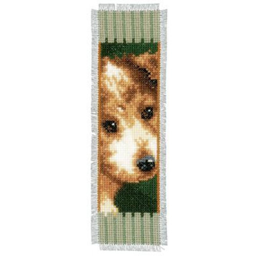 Vervaco Bladwijzer kit Poes en hond set van 2