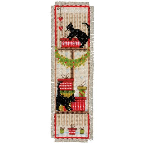 Vervaco Bladwijzer kit Kerstsfeer set van 2