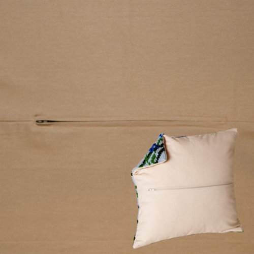 Duftin Kussenrug 45 x 45 cm Cappucino