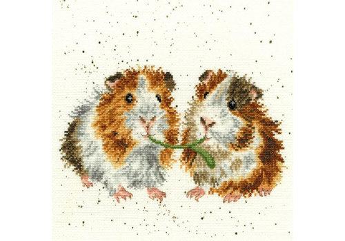 Bothy Threads Hannah Dale - Lettuce be Friends