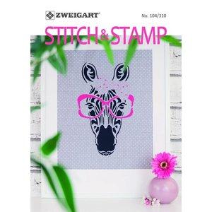 Zweigart Borduurboekje Zweigart - Stitch & Stamp
