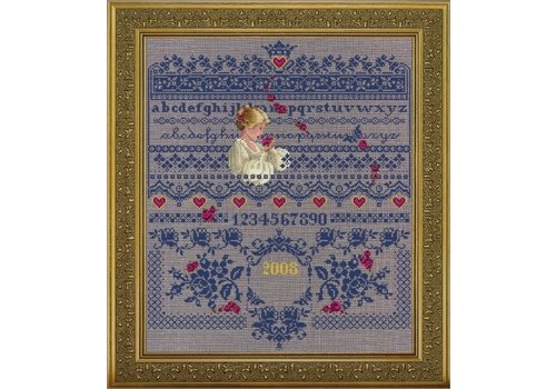 Lavender and Lace Fallen roses - patroon