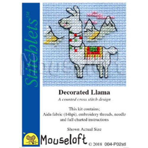 Mouseloft Borduurpakket Llama - Mouseloft
