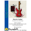 Mouseloft Borduurpakket Electric Guitar - Mouseloft